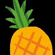 え?パイナップルって果実じゃないんか…